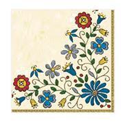 """Χαρτοπετσέτες 20τεμ. """"μοτίβο με λουλούδια 2"""" 33x33εκ. (SLOG 019701)"""