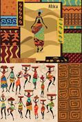 """Χαρτί decoupage """"Africa"""" 32x48εκ."""