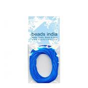 Βαμβακερό κορδόνι μπλε 0,5mm.x5μέτρα