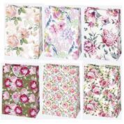 """Χάρτινη τσάντα """"Floral mix"""" Υ40x29x12 εκ. διάφ. σχέδια  (T9_OG_49)"""
