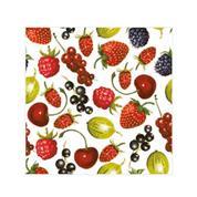"""Χαρτοπετσέτες 20τεμ. """"καλοκαιρινά φρούτα"""" 33x33εκ. (SDOG 020301)"""