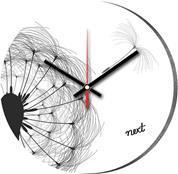"""Νext ρολόι Ø31εκ. """"α/μ λουλούδι"""""""