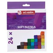 Talens soft pastel 24χρωμάτων