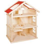 Goki κουκλόσπιτο ξύλινο τριώροφο Υ86,3x35x35,5εκ.