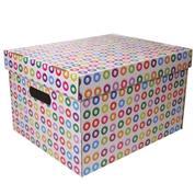 """Νext κουτί """"Κύκλοι"""" Α4 Υ19x30x25,5εκ."""