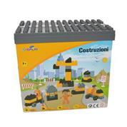 Κουτί με 61 τουβλάκια για κατασκευή εργοταξίου