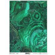 """Ριζόχαρτο """"gemstones green"""" 21x29.7εκ.   (ITD-R1658)"""