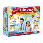 """Επιτραπέζιο παιχνίδι """"Είσαι πιο έξυπνος από εμένα?"""" Υ7,5x42x25εκ."""