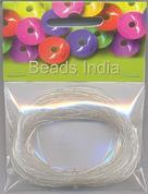 Σύρμα για κοσμήματα λεπτό ασημί 0,4mm.x15μέτρα
