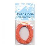 Βαμβακερό κορδόνι πορτοκαλί 0,5mm.x5μέτρα
