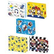 """Χάρτινη τσάντα """"Boy Heroes mix"""" Υ29x38x10 εκ. διάφ. σχέδια  (T8_OG_39)"""