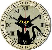 """Νext ρολόι Ø31εκ. """"γάτα"""""""