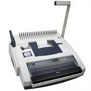 Dsb χειροκίνητη μηχανή πλαστ.& μεταλ.σπιραλ CW350 3:1