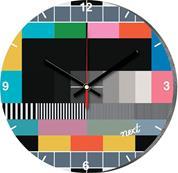 """Νext ρολόι Ø31εκ. """"τηλεόραση"""""""