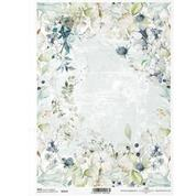 """Ριζόχαρτο """"floral compositions"""" 21x29.7εκ.   (ITD-R1633)"""