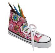 Κασετίνα παπούτσι ροζ 24.5x8.5x12εκ.