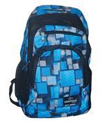 Montana τσάντα πλάτης εφηβική μπλε με 1 θήκη 40x28x13εκ.