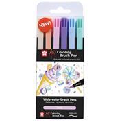 Sakura Koi Sweets brush markers σετ 6 τεμ.