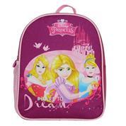 "Bagtrotter mini τσάντα νηπίου ""Πριγκίπισσες"", μωβ με 1 θήκη, Υ29x24x9εκ."