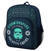 "Bagtrotter τσάντα νηπίου ""Star wars"" μπλε 35x26x11εκ."