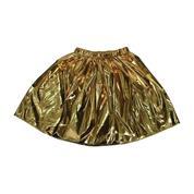 Φούστα μεταλλιζέ χρυσή