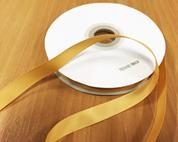 Κορδέλα Gros χρυσή 6mm x 50μ.