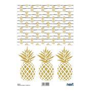 "Next ριζόχαρτο ""pineapple"" 21x29εκ."