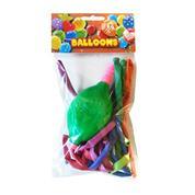 Μπαλόνια κατασκευής με τρόμπα 10 τεμάχια