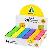 "Adel ξύστρα ""Emoji"" διπλή  ø7mm &  ø12mm τρύπα"