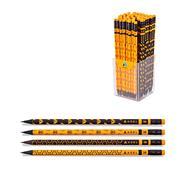 "Adel μολύβι με σβήστρα ""Bee"" 2B κοκτέηλ 4 σχέδια"