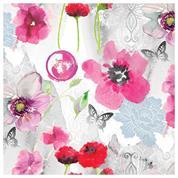 """Χαρτοπετσέτες 20τεμ. 33x33εκ """"Θολωμένα λουλούδια"""" (SDOG 024501)"""