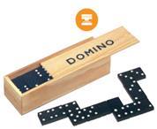 Ντόμινο 28 τεμαχίων σε ξύλινο κουτί