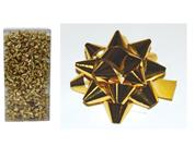 Φιόγκοι χρυσοί Ø40χιλ. σε συσκευασία 50τεμ.