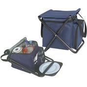 Καρεκλάκι-τσάντα-σετ πικ νικ μπλε 30x31x56εκ.