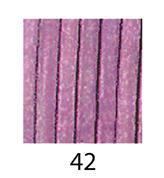Δερμάτινο κορδόνι λιλά 1,50mm.x1m