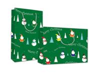 "Next χάρτ. τσάντα Υ24x23x10 ""Merry Christmas"""