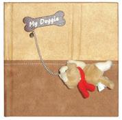 """Φώτο άλμπουμ με θήκες """"my doggie"""" για 100 φωτογρ. 22.5x22.5εκ."""