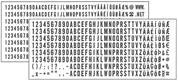 Ανταλλακτικά 288 γράμματα (6004) για 4912 typomatic 4χιλ.