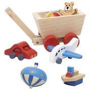 Goki σετ αξεσουάρ παιδικού δωματίου ξύλινα 7 τεμάχια.