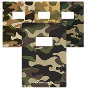 "Next  τετρ. καρφίτσα ""Camouflage"" 21x29εκ. 40φυλ."