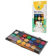 Adel νερομπογιές 21 χρωμάτων