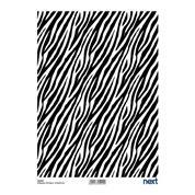 "Next ριζόχαρτο ""zebra"" 21x29εκ."