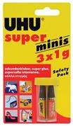 Uhu Super Glue mini 3x1gr