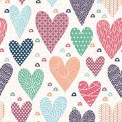 """Χαρτοπετσέτες 20τεμ. 33x33εκ """"καρδιές"""" (SDOG020101)"""