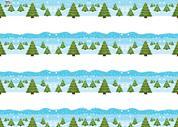 """Χαρτόνι """"χριστουγεννιάτικα δέντρα"""" 50x70εκ. 300γρ."""