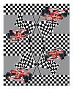 """Τραπεζομάντηλο πλαστικό """"race car"""" 54x72εκ."""