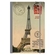 Next ημερολόγιο ACADEMIC+ 9/2021-12/2022 Gallery εβδομαδιαίο flexi 14x21εκ. Eiffel