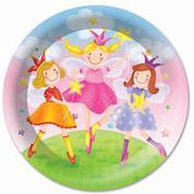 """Πιάτα πάρτυ 9"""" """"little fairies"""" 6τεμ."""