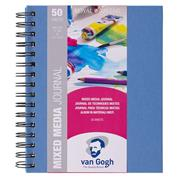 Talens Van gogh mix media journal  A5 50φυλ. 160 γρ.