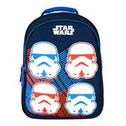 "Bagtrotter τσάντα πλάτης δημοτικού ""Star wars"" μπλε 42x30x14εκ."